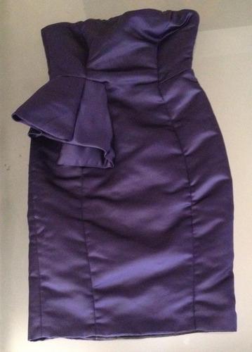 vestido de fiesta zara talla chica (ir15406)