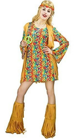 zapatos de separación f6f38 86702 Vestido De Flecos Para Mujer, Estilo Hippie, Años 60 Y 70.