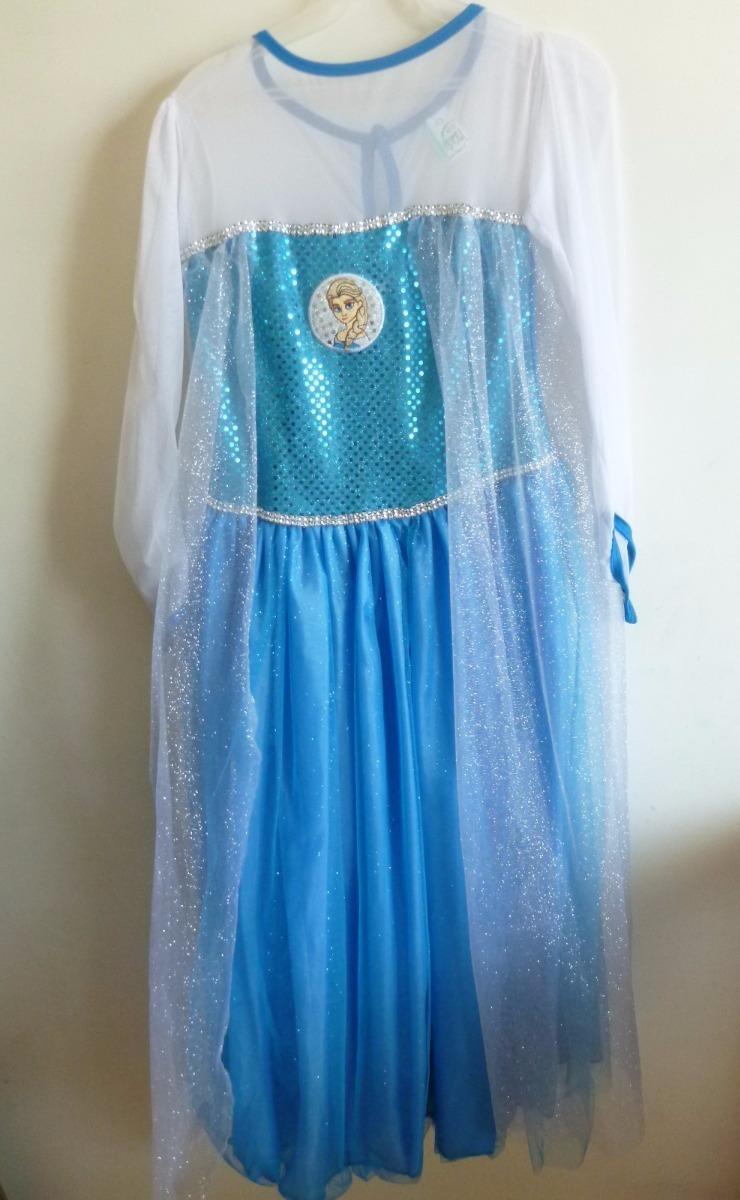 79e46155ef8b0 Vestido De Frozen Color Acua Con Blanco -   450.00 en Mercado Libre