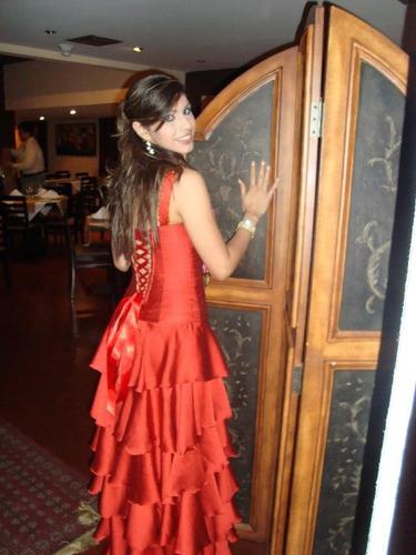 vestido de gala alta costura