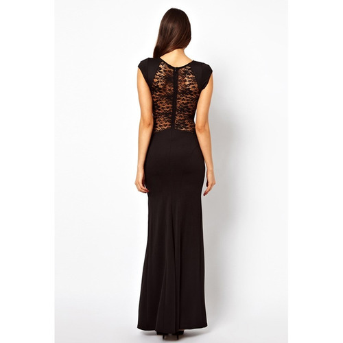 vestido de gala corte al costado para dama (por encargue)