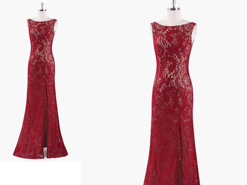vestido de gala - fiesta - noche  0101148 elbauldecorina