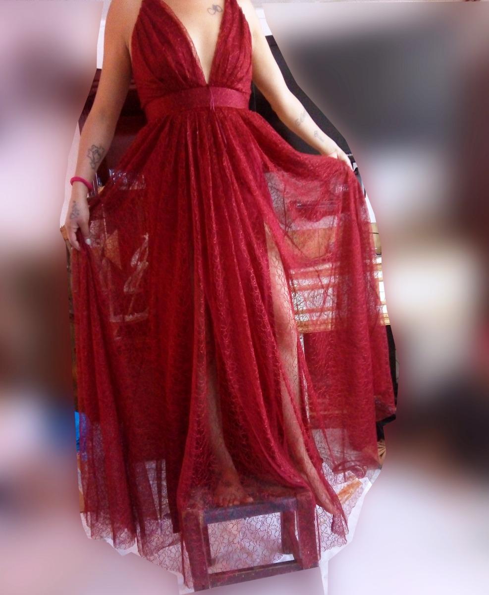 Vestido De Gala Marca Shasa Remate