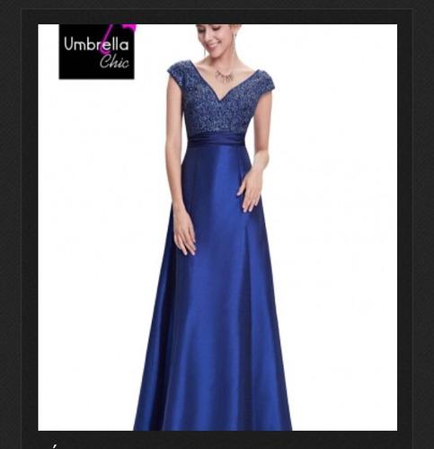 vestido de gala, marca umbrella chic ! un solo uso.