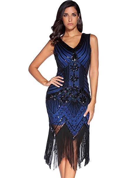 ad1151c1c4 Vestido De Gala Para Fiesta Baile Color Azul Marca Meilun ...