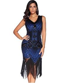 0fa6a422e Vestido Anahi Vestidos Largos Mujer Nayarit Tepic - Vestidos Azul en ...