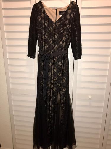 vestido de gala, usado 4 horas, comprado en macy's usa