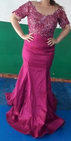 Vestido De Graduación O De Noche Color Rosa Bugambilia