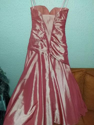 vestido de graduación talla s