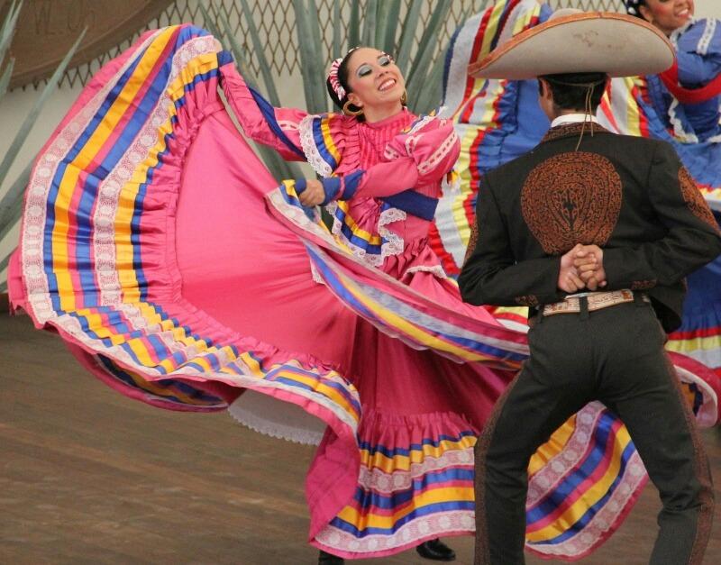 Vestido De Jalisco, Falda De Danza, Somos Fabricantes - $ 370.00 en ...