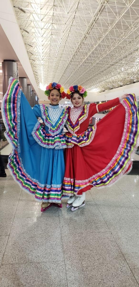 Vestido De Jalisco Talla 8 Leer Descripcion