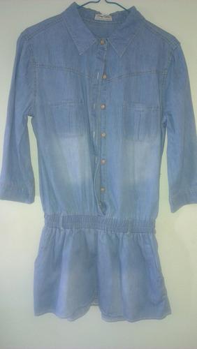 vestido de jeans talla s/m perfecto para cualquier ocasión