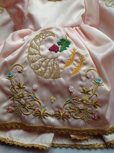 vestido de la abundancia para niño dios #30 envío gratis