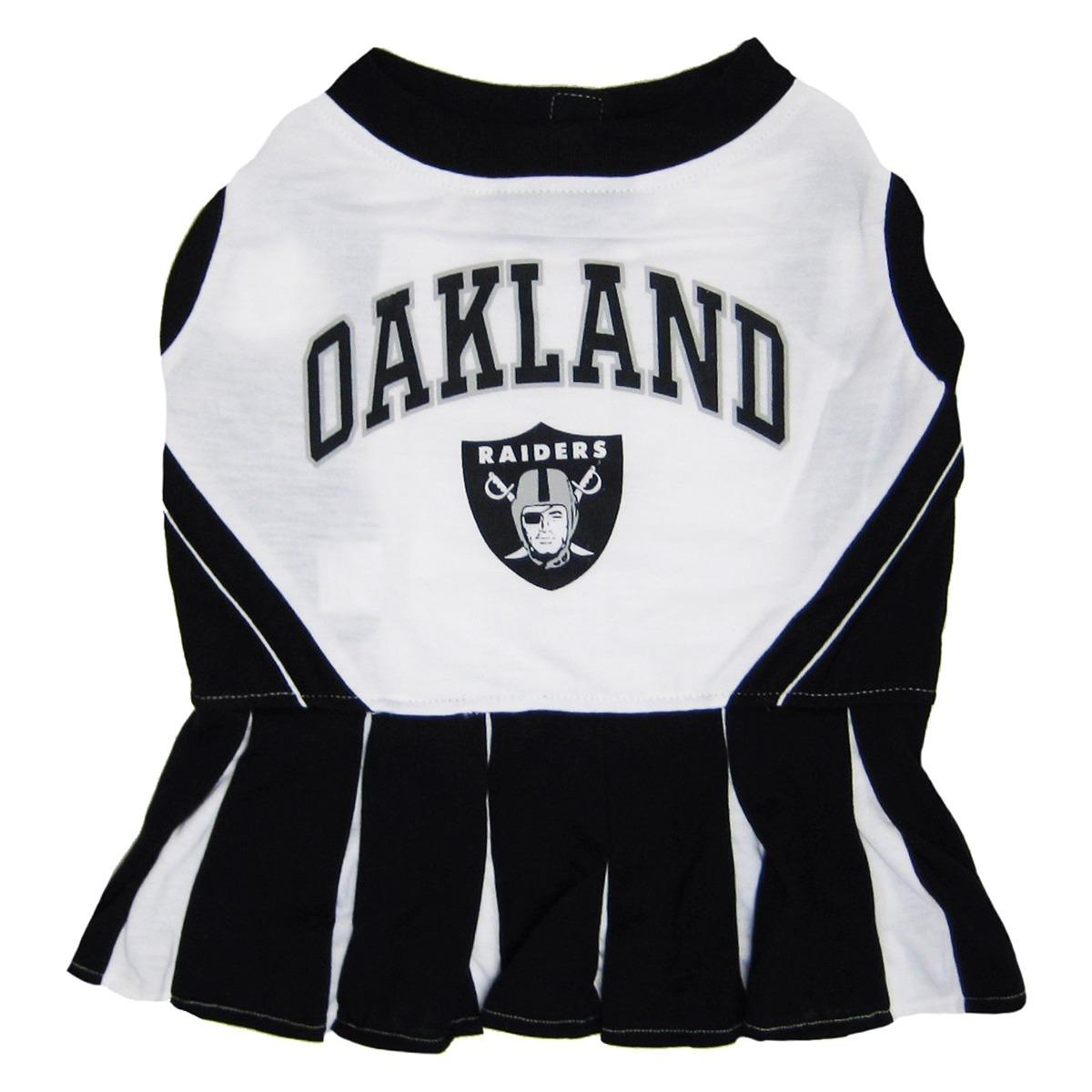 Vestido De La Animadora De Oakland Raiders Nfl Para Perros ...