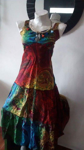 vestido de la india
