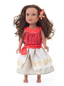 Adve Vestido De La Muñeca Polinesia Princesa Little shtrQCd