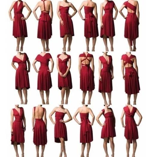 Vestido De Las Mil Formas