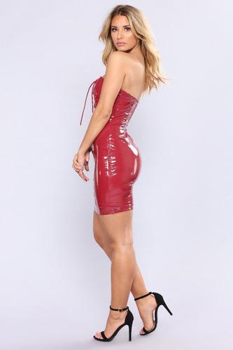 vestido de latex