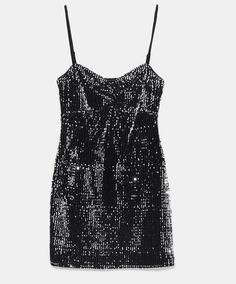 Vestido Zara Argentina Libre Mercado Lentejuelas En Y6v7gbfy