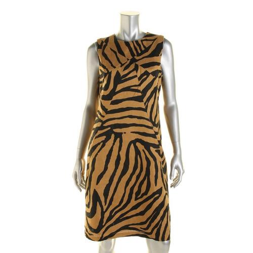 vestido de lino talla s - importado usa