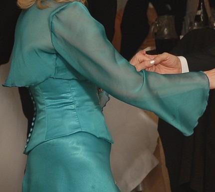 vestido de madrina de alta costura impecable oportunidad