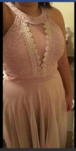 vestido de madrinha rosê