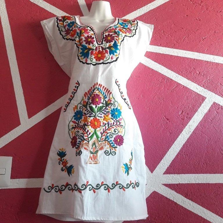 7290ce3939 Vestido De Manta Blanco