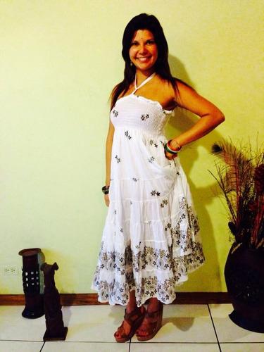vestido de manta indu