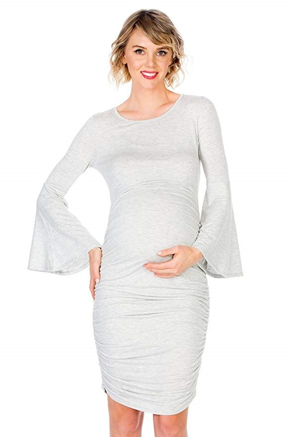 b4c4bf1c8 vestido de maternidad embarazada de tela 10 marca my bump. Cargando zoom.