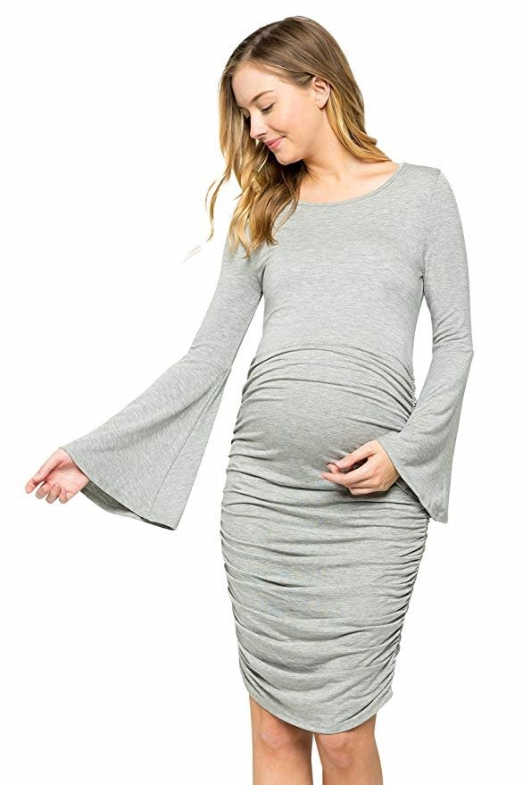 ff05ca369 vestido de maternidad embarazada de tela 15 marca my bump. Cargando zoom.