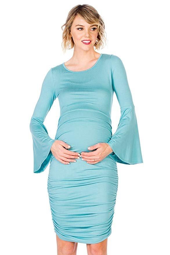 69c50024e vestido de maternidad embarazada de tela 9 marca my bump. Cargando zoom.