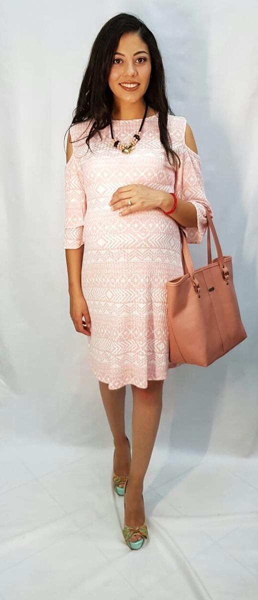 3c5f9a0e5 Vestido De Maternidad En Rosa -   820.00 en Mercado Libre