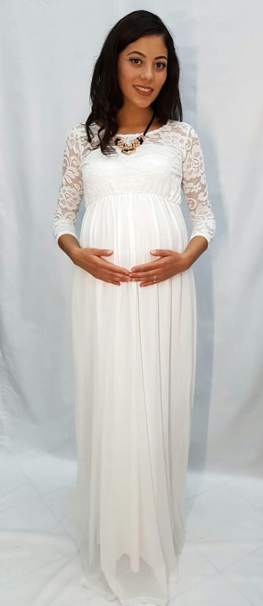 Vestido formal de maternidad