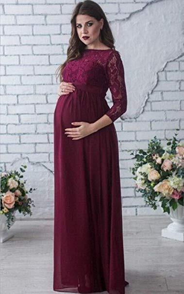 Vestido De Maternidad Para Baby Shower Talla L Marca Sicily