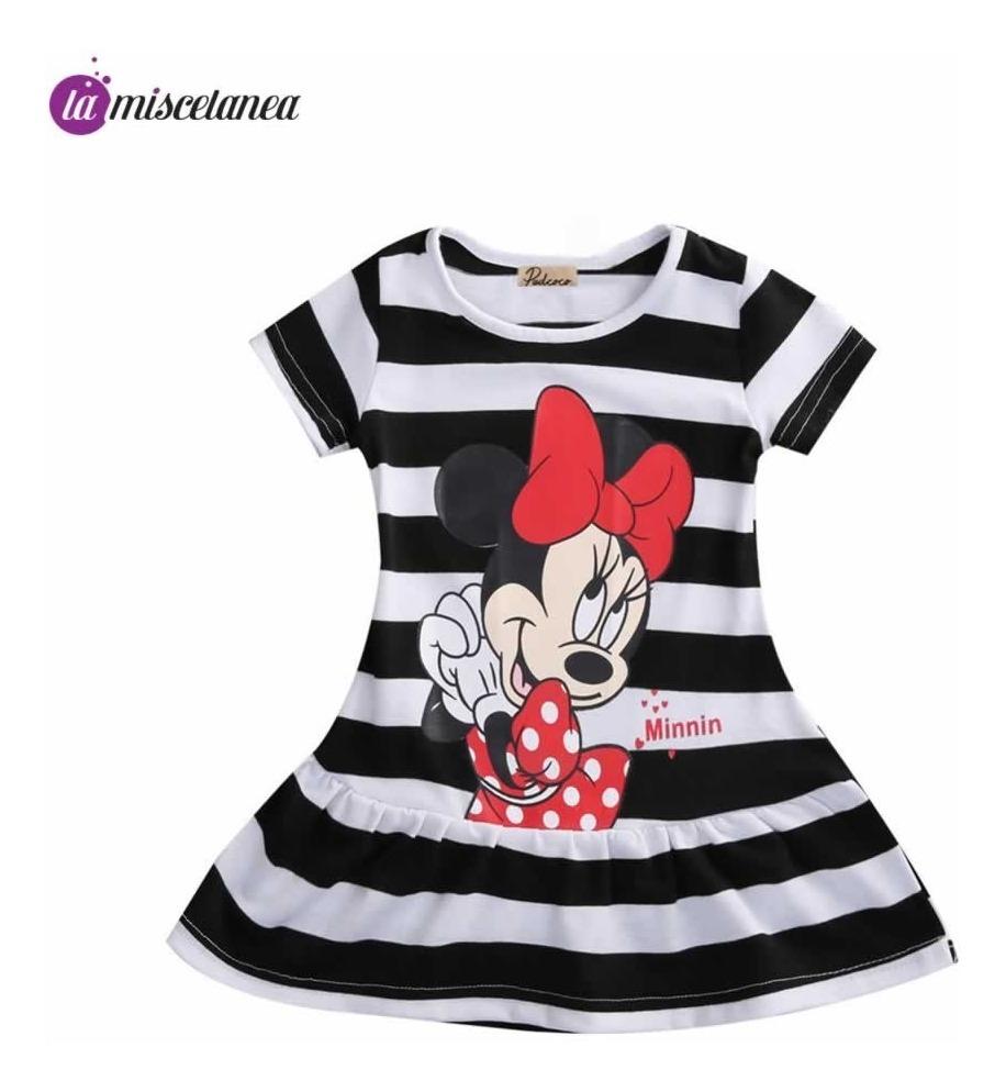 Minnie Mouse beb/é-ni/ñas Vestido y Bragas