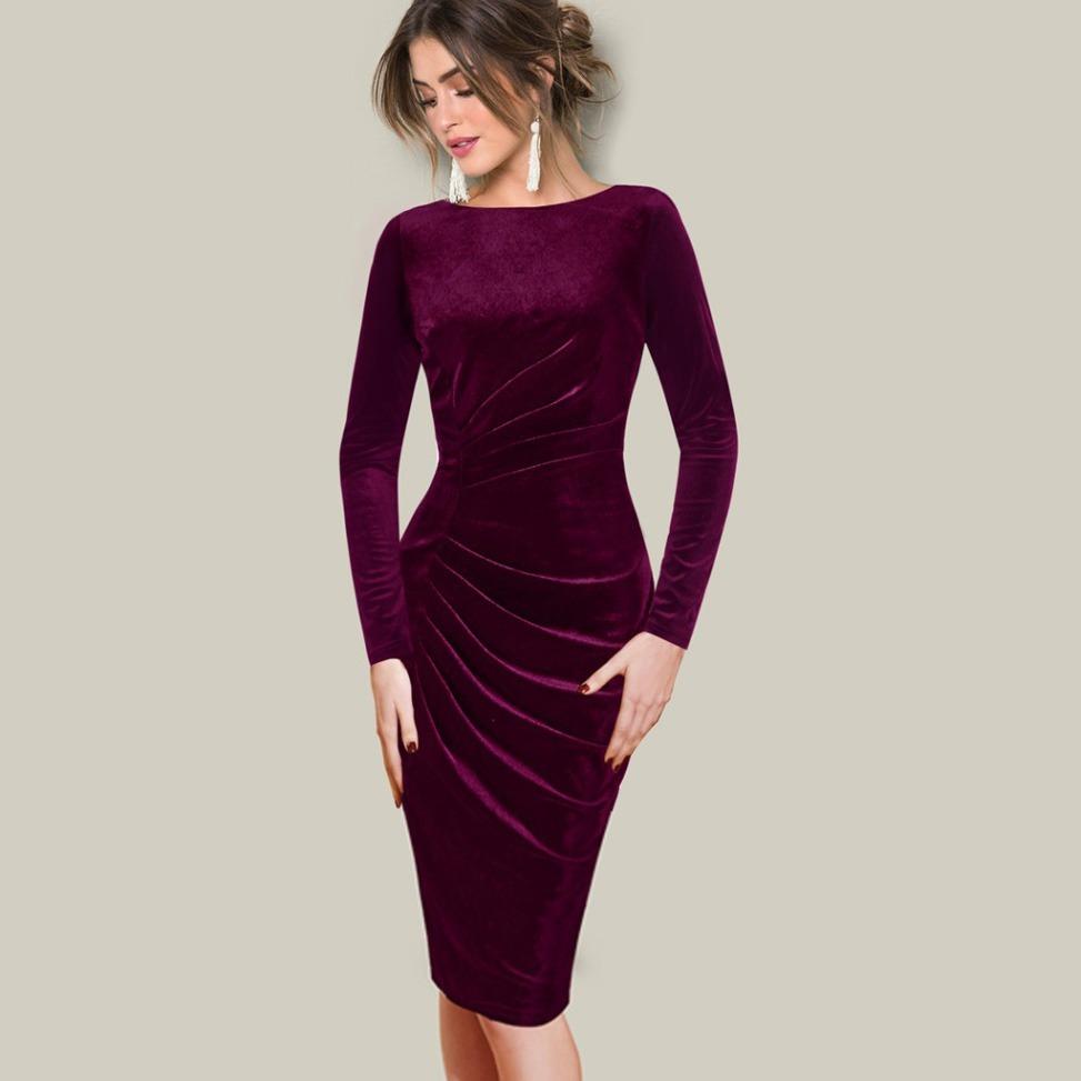 087ebdb6cbf3f vestido de mujer material terciopelo vestidos otoño invierno. Cargando zoom.