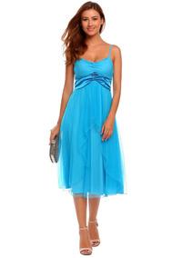 65230a598 Mallas Acquaclara Con Flecos - Vestidos de Mujer Azul en Mercado ...