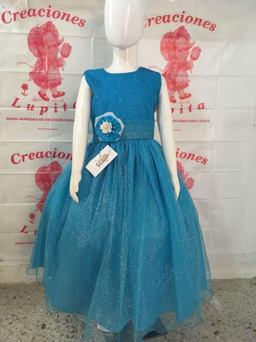 vestido de ni a color azul turquesa en mercado