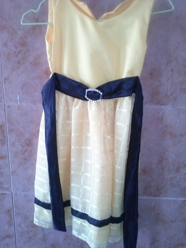 vestido de niña elegante talla 5