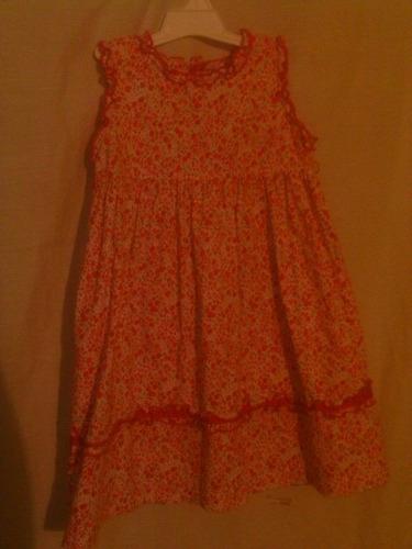 vestido de niña epk talla 12 meses