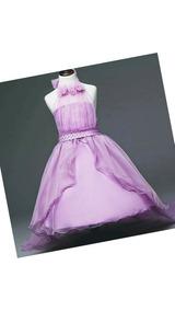 786c22c4d Vestido De Niña Fiesta Elegante Pagecita Dama De Honor