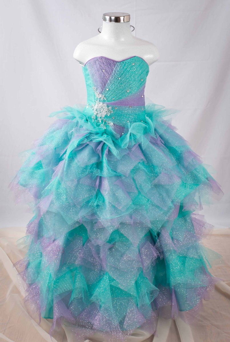 88c3bed05 Vestido De Niña Fiesta - Para Presentación - $ 1,199.99 en Mercado Libre