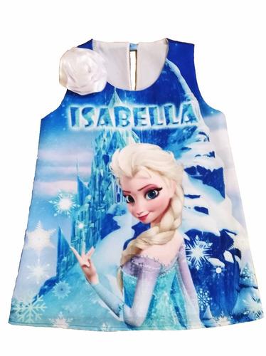vestido de niña frozen soy luna disney minnie pepapig y mas