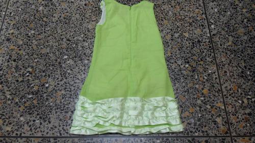 vestido de niña kids colour talla 06 usado 1 postura