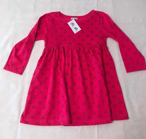 vestido de niña manga larga bambino original