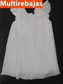 3896e1f5c Vestido De Niña Marca Monsoon, Color Blanco Talla 2-3 Años