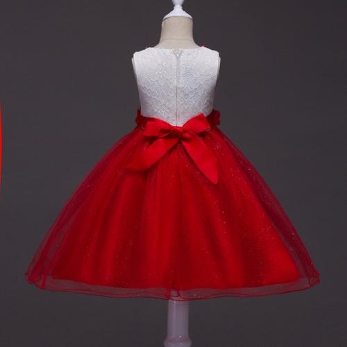 vestido de niña para fiesta flores j000029