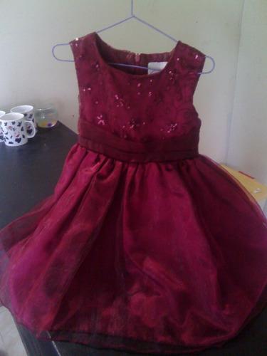 vestido de niña talla 4