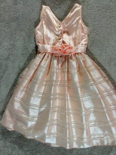 vestido de niña talla 4 modas yanina