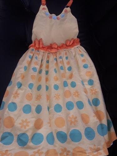 vestido de niña talla 6 8
